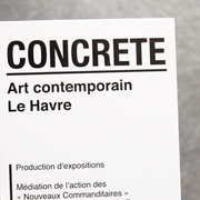 CONCRETE art contemporain Le Havre